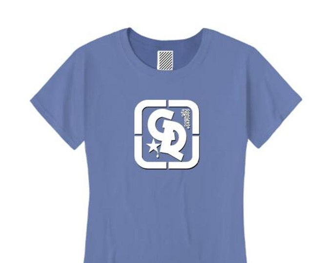Womens sporty/modern style Concrete Republic logo graphic (sizes Sm-4X)