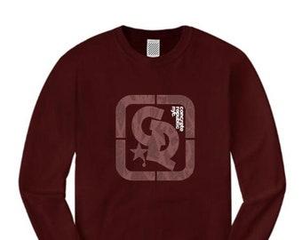 Mens long sleeve streetwear/graffiti tee, 'Primo' Concrete Republic logo graphic (sizes Sm-4XL)