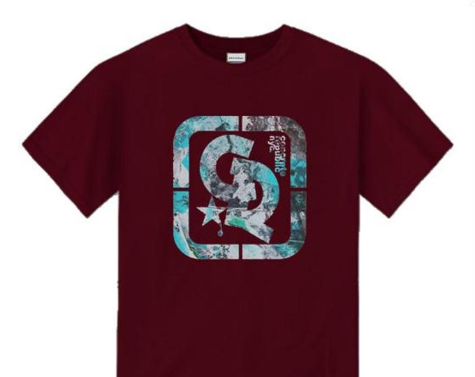 Mens streetwear/graffiti tee, 'Urban Decay' Concrete Republic logo graphic (sizes Sm-4XL)
