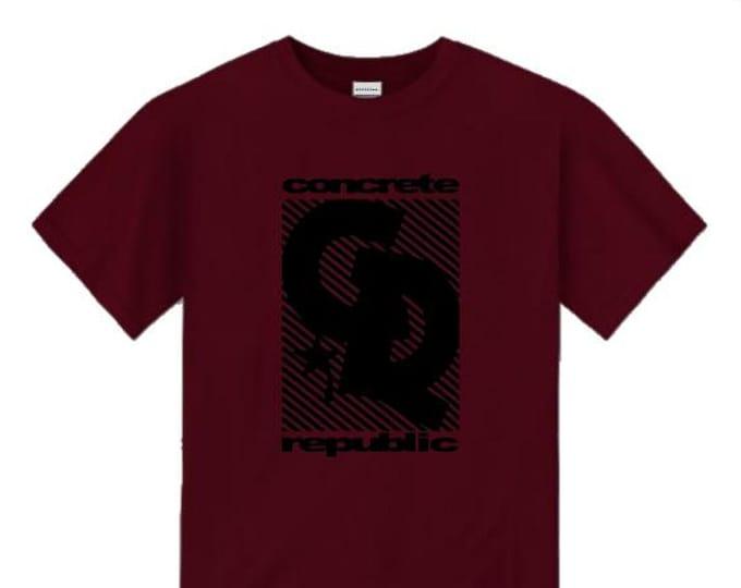 Mens skateboarder/graffiti tee, 'Blitz' skateboarder style logo graphic (sizes Sm-4XL)