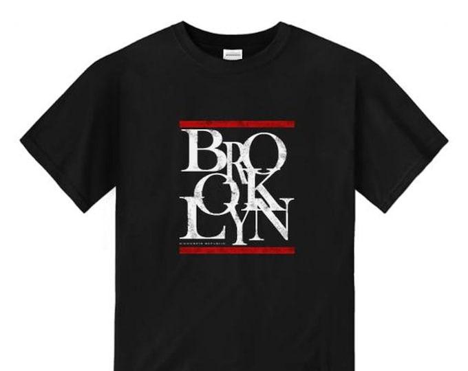 Mens urban style tshirts, Brooklyn 'Scramz' graffiti tag/Hip Hop style graphic (sizes Sm-4XL)