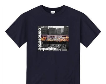 Mens Graffiti Tee, Hip Hop graphic 'Subway Art' series, vintage 80's photo (sizes Sm-4XL)