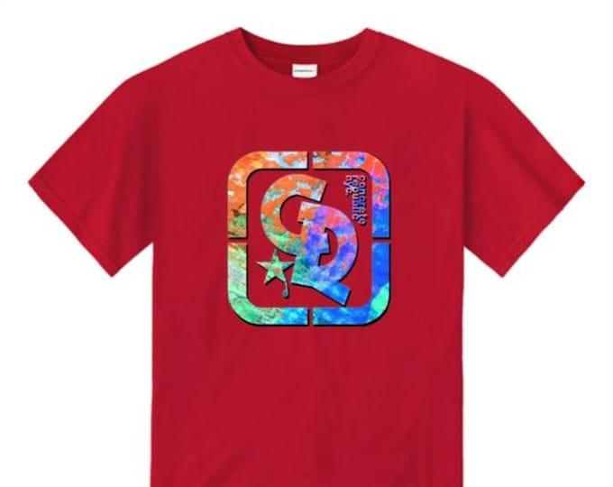 Mens streetwear/graffiti tee, 'Pop Life' Concrete Republic logo graphic (sizes Sm-4XL)