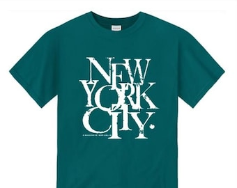 Mens urban style tshirts, New York City 'Scramz' graffiti tag graphic (sizes Sm-4XL)