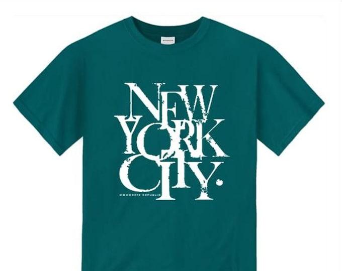 Mens urban style tshirts, New York City 'Scramz' graffiti tag graphic (sizes Sm-4XL)