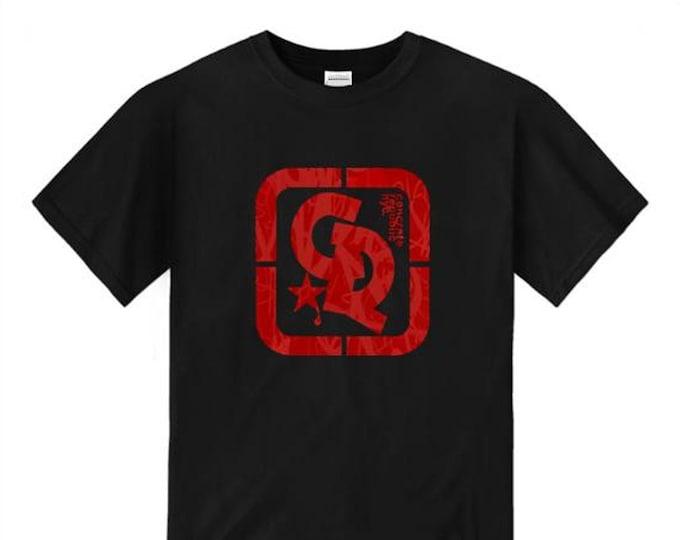 Mens streetwear/graffiti tee, 'Floss' Concrete Republic logo graphic (sizes Sm-4XL)