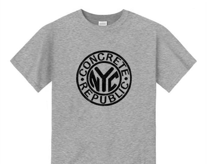 Mens Graffiti Fashion Tee, old school/vintage 'NYC Subway Token' inspired graphic (sizes Sm-4XL)