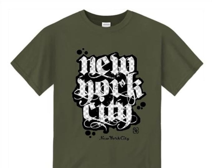 Mens urban style tshirts, New York City 'Grand Royal' graffiti tag graphic t-shirts (sizes Sm-4XL)
