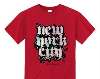 Mens urban style tshirts, New York City 'Grand Royal' graffiti tag graphic t-shirts (sizes Sm-4XL)