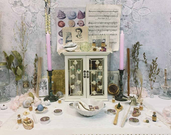 Master Apothecary Witch Altar // Vintage Edition
