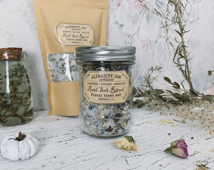 Bath Salt Ritual ~ Floral blend no2