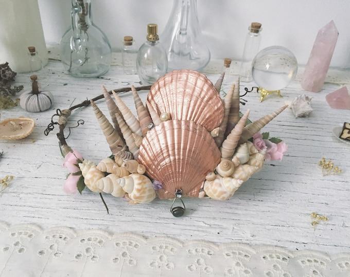 Artisan Mermaid Seashell Crown