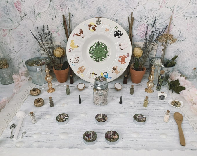 Apothecary Witch Altar // Astrology Edition