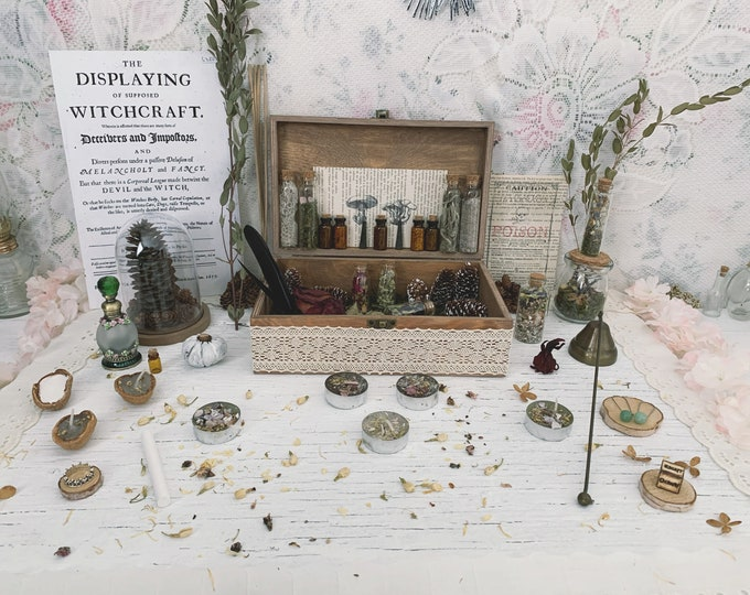 Apothecary Witch Altar // Dryad Edition