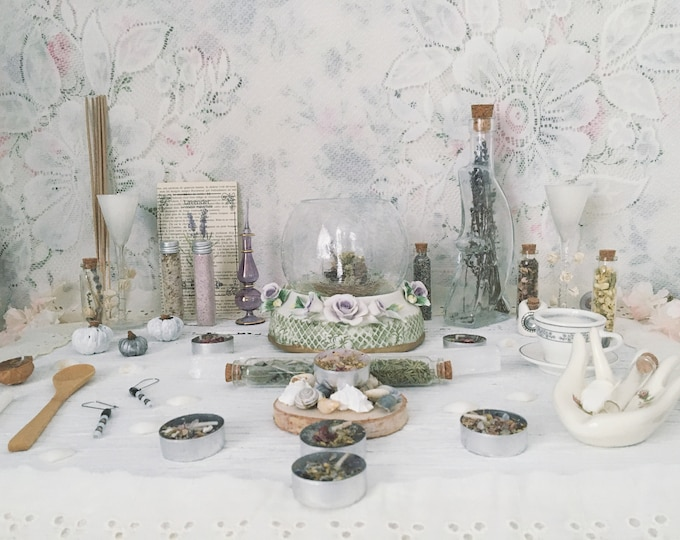 Apothecary Witch Altar // Rhiannon Edition