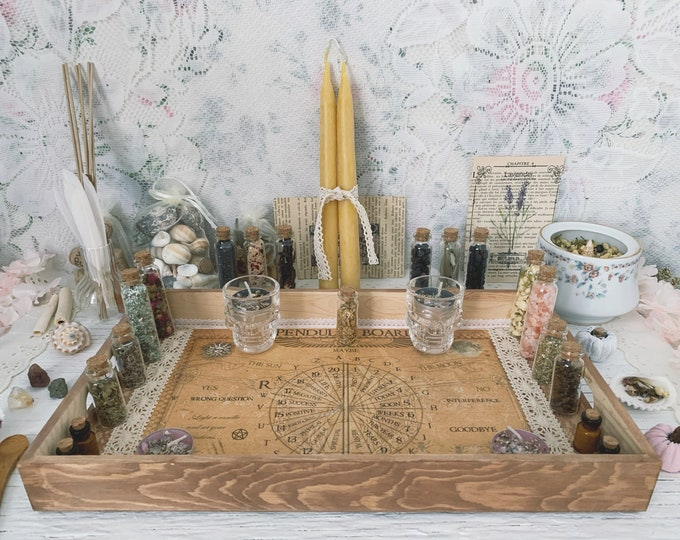 Apothecary Witch Altar