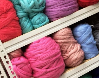 Free Shipping Super Bulky Merino Wool Yarns Wholesale Etsy
