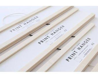 Stampa Hanger - Poster Hanger - telaio - A4 - A3 - A2 - 50 cm