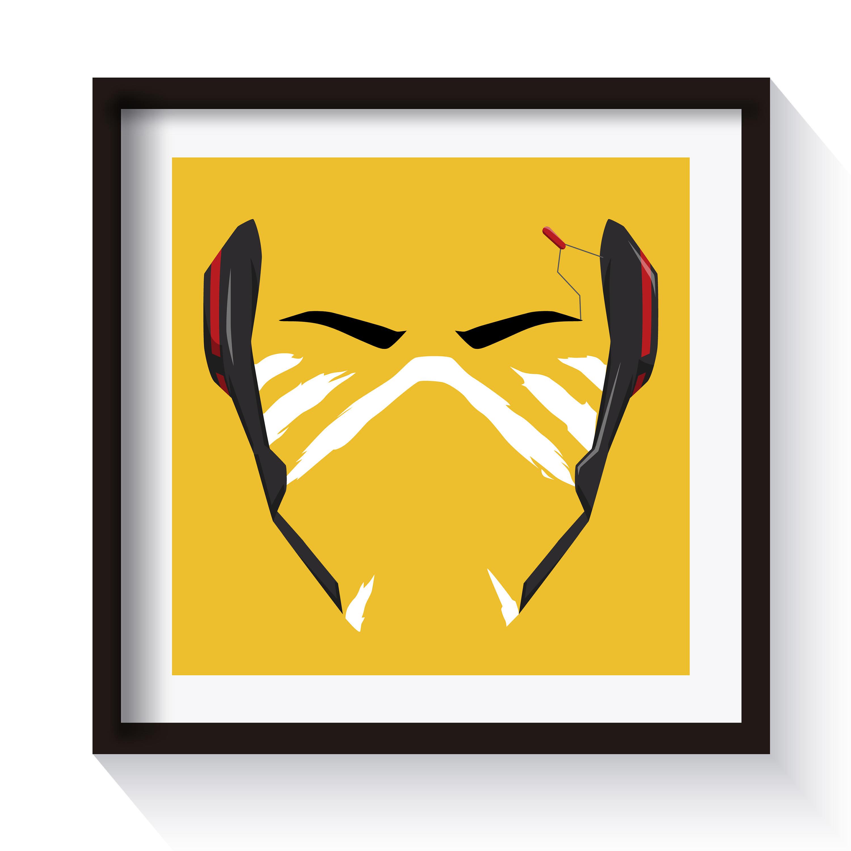 Overwatch Doomfist Akande Ogundimu Minimalist Spray Digital | Etsy