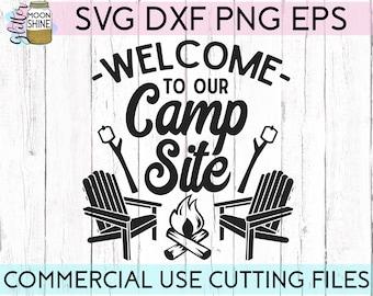 Camping Svg Design Etsy