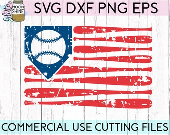 Distressed Baseball Flag svg dxf eps png Files for Cutting Machines Cameo Cricut, Baseball Mom Sister, All About Base, Cute Girly, Pitches