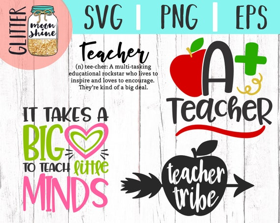 22+ Teacher Life Bundle Of 16 Svg Png Eps Cutting Files SVG
