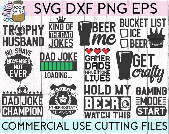 Dad Life Bundle Of 27 Svg Eps Dxf Png Files For Cutting Etsy