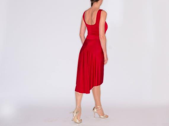 TROILO Tango Kleid in Elegant Schwarz Nacht Blau und | Etsy