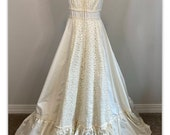 Gunne Sax Cottagecore Prarie Dress