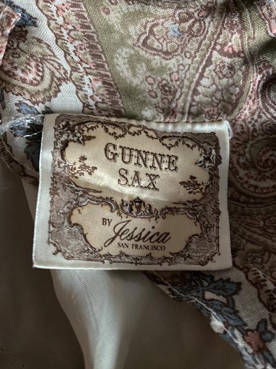 Vintage Gunne Sax Paisley Cottagecore dress - image 10