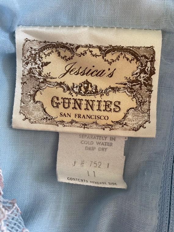 Vintage Gunne Sax Corset Maxi Dress - image 6