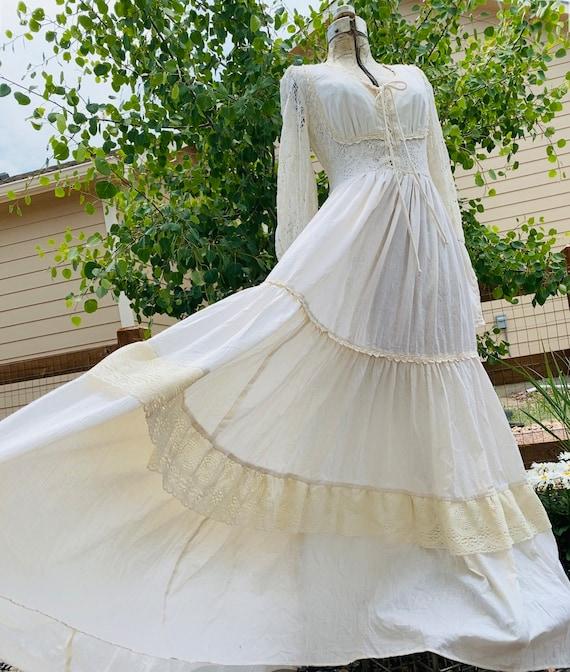 Gunne Sax Prairie Dress - image 1
