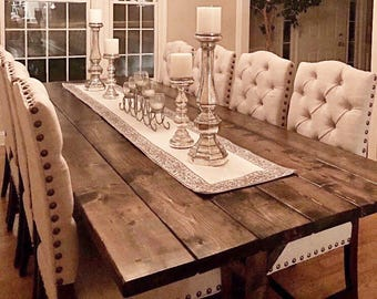 Farmhouse Dining Table Etsy Rh Com Farm Room Tables For Sale Large
