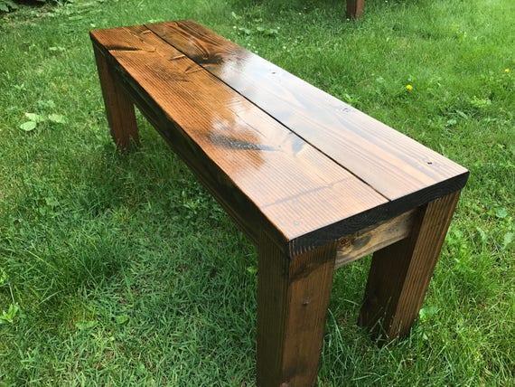 Rustic Bench Farm Farmhouse Table