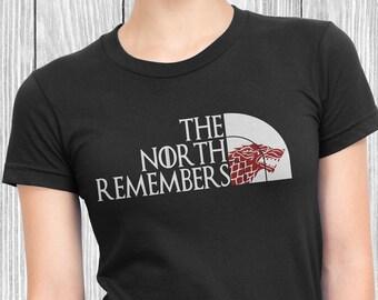 a55610049 The North Remembers Got Wall John Snow Hodor Basic Men's | Etsy