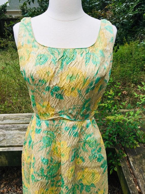 1950s VINTAGE WIGGLE DRESS