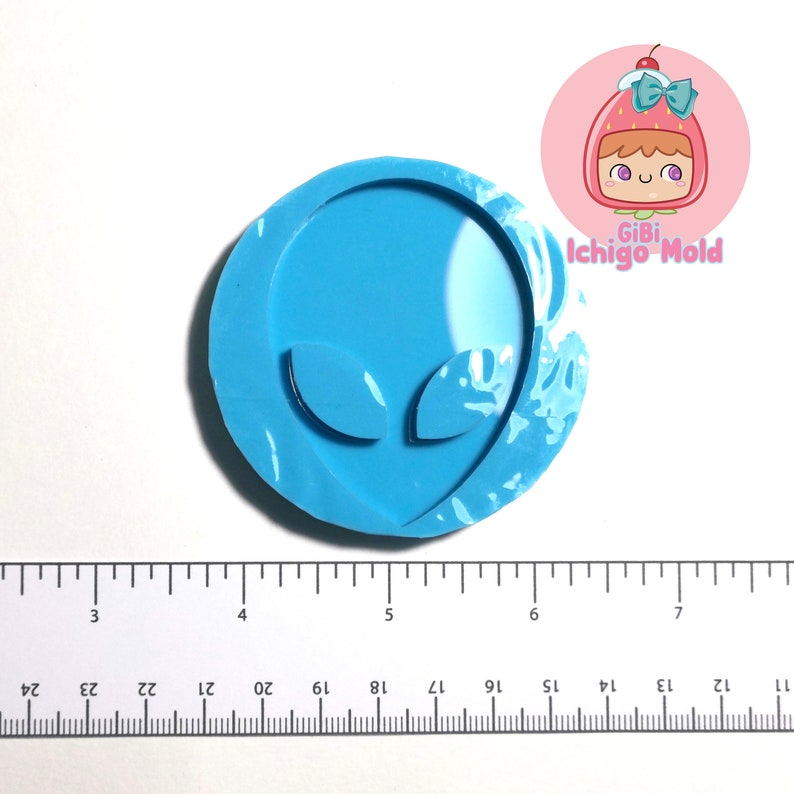 13f1ab94d2a0d Silicone Mold by ICHIGO MOLD ~ ALIEN, kawaii, decoden, resin mold