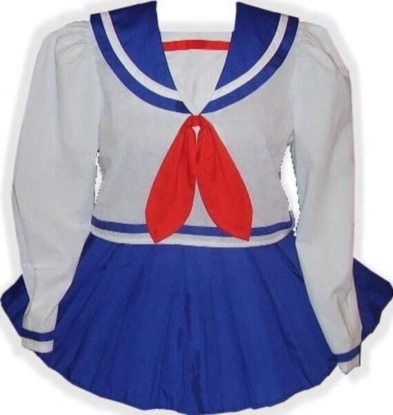 Cute SAILORETTE Baby LEANNE Melody Fit Girl Custom Adult Little Dress Sissy Zan6fW4