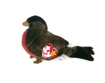 c5d420f399b Early the Robin Beanie Baby