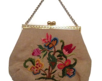 Gorgeous Large Embroidered Purse