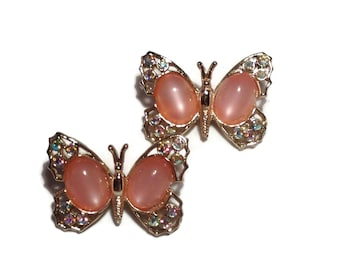 Vintage Butterfly Dress Pins