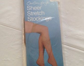 Vintage Our Own For You Stretch Stockings