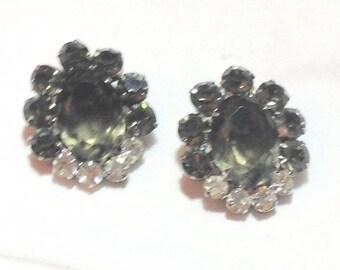 Fabulous Vintage Rhinestone Earrings