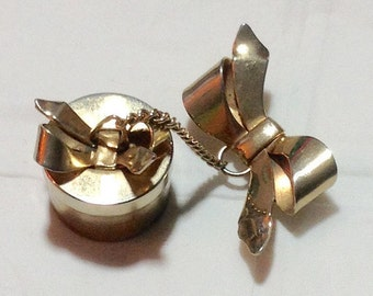 Fabulous Vintage Pin with Box Charm