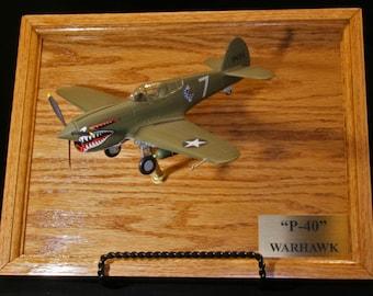 P-47D WW II Diecast Model mounted-in-flight 1:48 Scale by | Etsy