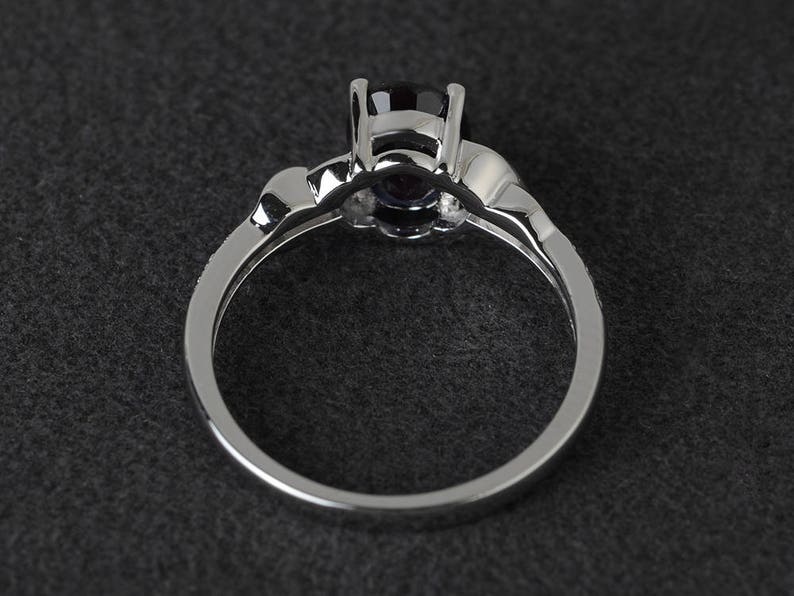 oval shaped engagement rings alexandrite ring sterling silver wedding ring promise ring