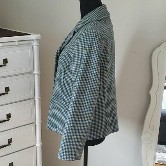 1990s vintage Pendleton blazer, 1990s houndstooth… - image 6