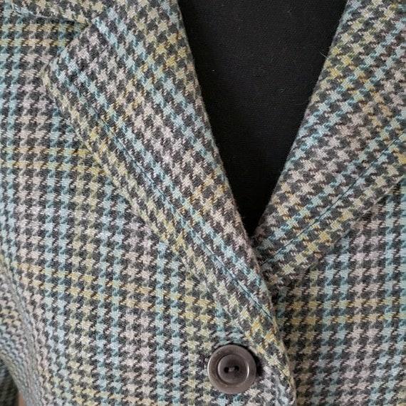 1990s vintage Pendleton blazer, 1990s houndstooth… - image 2
