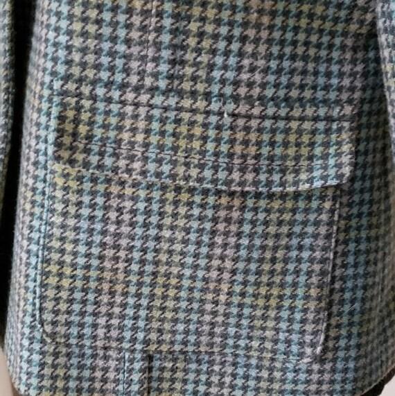 1990s vintage Pendleton blazer, 1990s houndstooth… - image 5