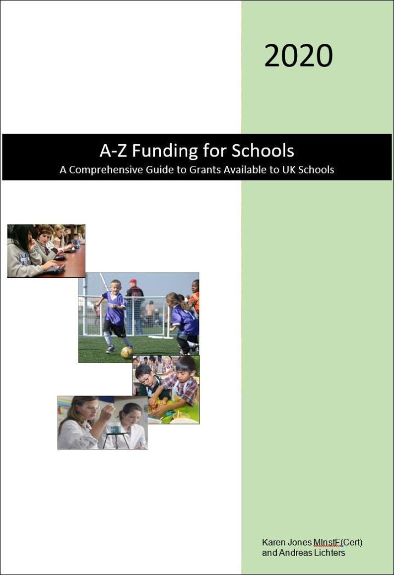 A-Z Funding Guide for Schools 2020  A Comprehensive Guide to image 0